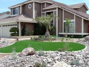 Artificial Grass Photos: Artificial Grass Carpet Charco, Arizona Home And Garden, Front Yard Landscape Ideas
