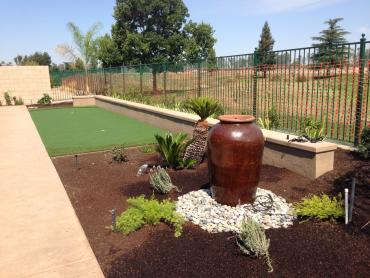 Artificial Grass Photos: Artificial Grass Installation East Sahuarita, Arizona Putting Green Flags, Backyards