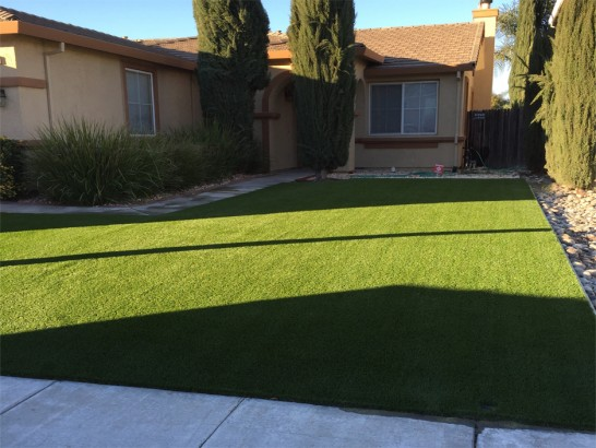 Artificial Grass Photos: Artificial Grass Installation Yarnell, Arizona Landscape Design, Front Yard Ideas