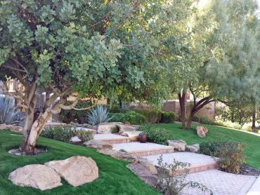Artificial Grass Photos: Fake Grass Sun Valley, Arizona Landscape Rock, Backyard Makeover