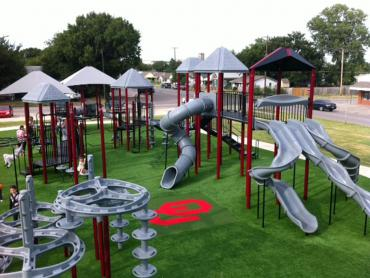 Artificial Grass Photos: Fake Lawn Campo Bonito, Arizona Upper Playground, Recreational Areas
