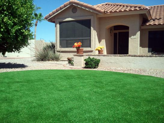 Faux Grass Clay Springs, Arizona Landscape Design, Front Yard artificial grass
