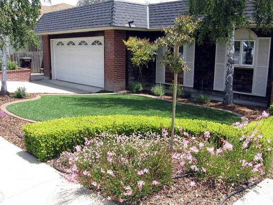 Artificial Grass Photos: Grass Installation Claypool, Arizona Roof Top, Front Yard Landscaping