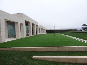 Artificial Grass Photos: Synthetic Lawn Ak-Chin Village, Arizona Rooftop, Commercial Landscape