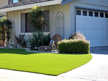 Artificial Grass Photos: Synthetic Turf Flowing Springs, Arizona Landscape Rock, Front Yard Landscaping